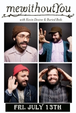 Mewithoutyou / Kevin Devine / Buried Beds