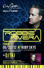 ROBBIE RIVERA plus DJ TAJ