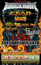 Shockwave Festival featuring Fear Factory / Voivod / Cattle Decapitation / Misery Index / Revocation / Havok / Dirge Within / Last Chance To Reason / VILDHJARTA / The Browning / Forged In Flame