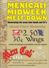 Midweek Melt-Down SHOWCASE featuring Nailed Shutt / The Folkadelics / Indiana Bones / Dani Lauren / Zac Smith