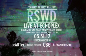 Backside Anniversary Party featuring Alexander Spit, CBG & Carter