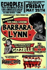 Echo & WIld Records presents Barbara Lynn , GISELLE , THE HURRICANES & THE NEUMANS