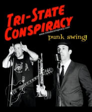 Tri-State Conspiracy plus The Arkhams / Hub City Stompers / 4th Street Night Owls