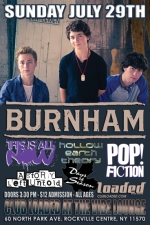 Burnham featuring Pop! Fiction / This Is All Now / Hollow Earth Theory / The Free Candy Band / Days of Season / A Story Left Untold / Six Stories Told