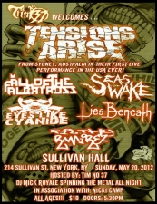 Fall Of The Albatross / Seas Of Wake / Eyes Like Cyanide / Lies Beneath / Filthy Ramirez Hosted By Tim No 37 and DJ Mick Royale
