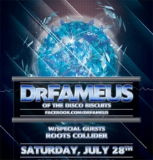 DrFameus featuring Allen Aucoin of the Disco Biscuits with special guests Roots Collider