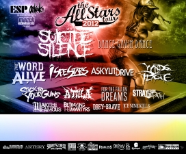 All Stars Tour featuring Suicide Silence / Dance Gavin Dance / The Word Alive