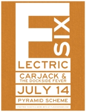 Electric Six + Carjack + The Dockside Fever