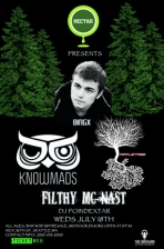 BINGX with KNOWMADS / Filthy / Appletree & DJ Poindextar