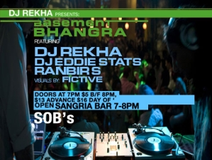 BASEMENT BHANGRA'S 15th BIRTHDAY BASH featuring DJ Rekha and Ranbir S.(RB-NYC)
