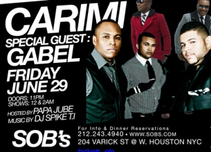 CARIMI featuring with special guest GABEL
