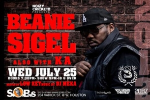 BEANIE SIGEL with KA featuring PRESENTED BY HEINEKEN
