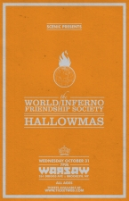 The World / Inferno Friendship Society : Hallowmas