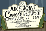 Juke Joint Cancer Blowout (including chicken & waffles brunch) featuring WALLACE COLEMAN, JOE ROLLIN PORTER, THE MICHAEL WEBER SHOW