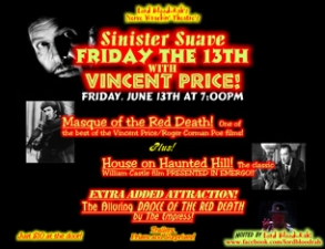Sinister Suave featuring Vincent Price / The House on Haunted Hill / Hosted by:Lord Blood Rah