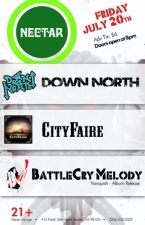 CITY FAIRE with DOWN NORTH & BattleCry Melody / Brian Marshall Band