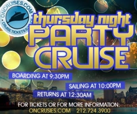 Thursday Night Party Cruise
