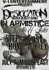 Desiccation , In Armistice , Lost In Aubrey , & more
