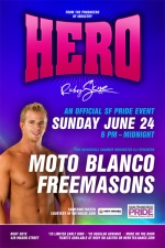HERO featuring AN OFFICIAL SF PRIDE EVENT with Moto Blanco &amp; Freemasons