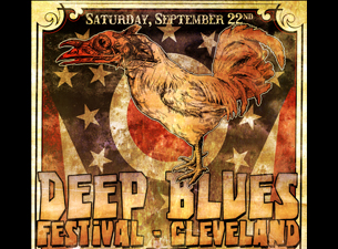 Deep Blues Cleveland : Bob Log III / Husky Burnette / Ten Foot Polecats / Robert Belfour / Scissormen / Molly Gene / The Blue Treads / The Misery Jackals / Shane Speal