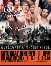 Devon Kay and the Solutions / Timeshares / The Revision Plan / Omegawatt / Finding Valor