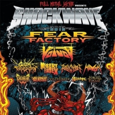 Shockwave Festival Tour featuring Fear Factory / Voivod / Cattle Decapitation