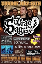 Survay Says! featuring 4 Shades of Black / Good People / Oceanview / The Offshore Regulars / 32 Pints of Applejuice / Failure By Design / Unclaymed / Break Out Day