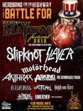 Rockstar Mayhem Festival's Battle of the Bands featuring Embrace This Day / Aerodyne Flex / On The Shoulders Of Giants / Tycho Brahe / My Brother, The Vulture / Conflicts / The Matador