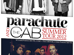 Parachute & The Cab with Katelyn Tarver