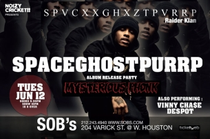 Spaceghostpurrp, Presented by Noizy Cricket!!, feat: Vinny Chase, Despot & Zomby