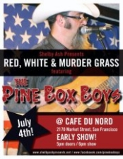 Red,White & Murdergrass : A Special Holiday Matinee Show featuring The Pine Box Boys and Colonel Jimmy & The Blackfish