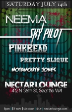 NEEMA with Sky Pilot / Pink Bead Federation & Slique | MotaMouth Jones