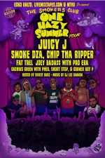 Smokers Club with Juicy J / Smoke Dza / Joey Bada$$