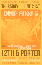 The Deep Fried Five with Captain Midnight Band / Rosetta Groove / Kelsie Cameron Band