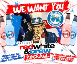 July 4th Pub Crawl Santa Monica