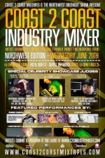 Coast 2 Coast Mixtapes Industry Mixer - Northwest Edition Featuring DJ B Mello Model Showcase