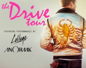 The Drive Tour with College, Anoraak & Electric Youth