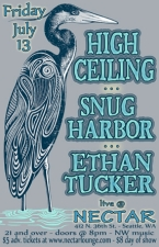 HIGH CEILING with Snug Harbor and ETHAN TUCKER BAND