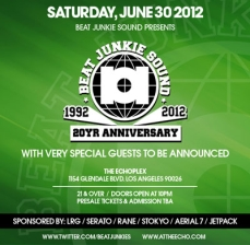 Beat Junkies 20 year anniversary