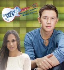 Country 102.5's Rockin' Country Music Series Starring Scotty McCreery and special guest Jana Kramer