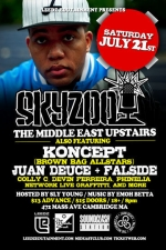 Skyzoo , Koncept (Brown Bag AllStars) , Juan Deuce + Falside , & more