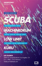 SCUBA featuring MACHINEDRUM / LOW LIMIT / KURU