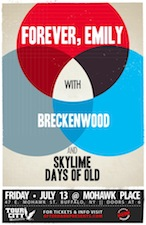 Forever, Emily featuring Breckenwood / Skylime / Days Of Old / Final Conspiracy