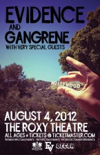 Evidence with Gangrene / Krondon / + Very Special Guests