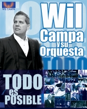 WIL CAMPA Y SU GRAN UNION (13-piece Salsa/Latin Band) plus DJ Baracoa