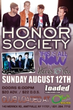 Honor Society featuring Kicking Daisies / This Is All Now / Here's To You