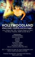 Tina McDowelle & Friends Present: Hollywoodland featuring Tommy Johnson / Jahsee / Sheera / Reign / DJ Dom Dior / The Brown Betties / Scheana Marie / Devan Jones