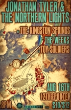 Jonathan Tyler & the Northern Lights with The Kingston Springs / The Weeks / Toy Soldiers