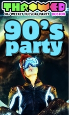 Throwed 90s Party with Celldweller, Texas Mike , & more