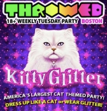 Throwed Kitty Glitter (Cat + Glitter Theme Party) with DJ E-Marce, Texas Mike , & Bad Magician